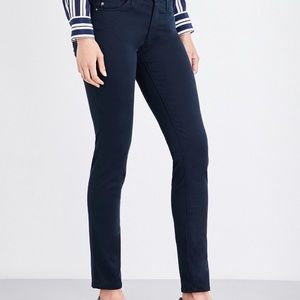 AG The Prima Mid Rise Cigarette Ankle Skinny Jeans